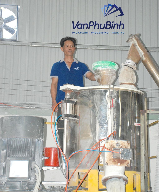 Máy trộn bột pvc