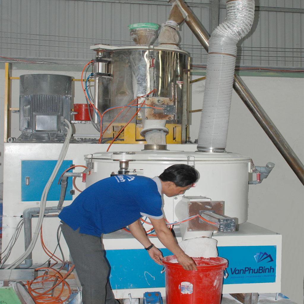 Máy trộn bột nhựa