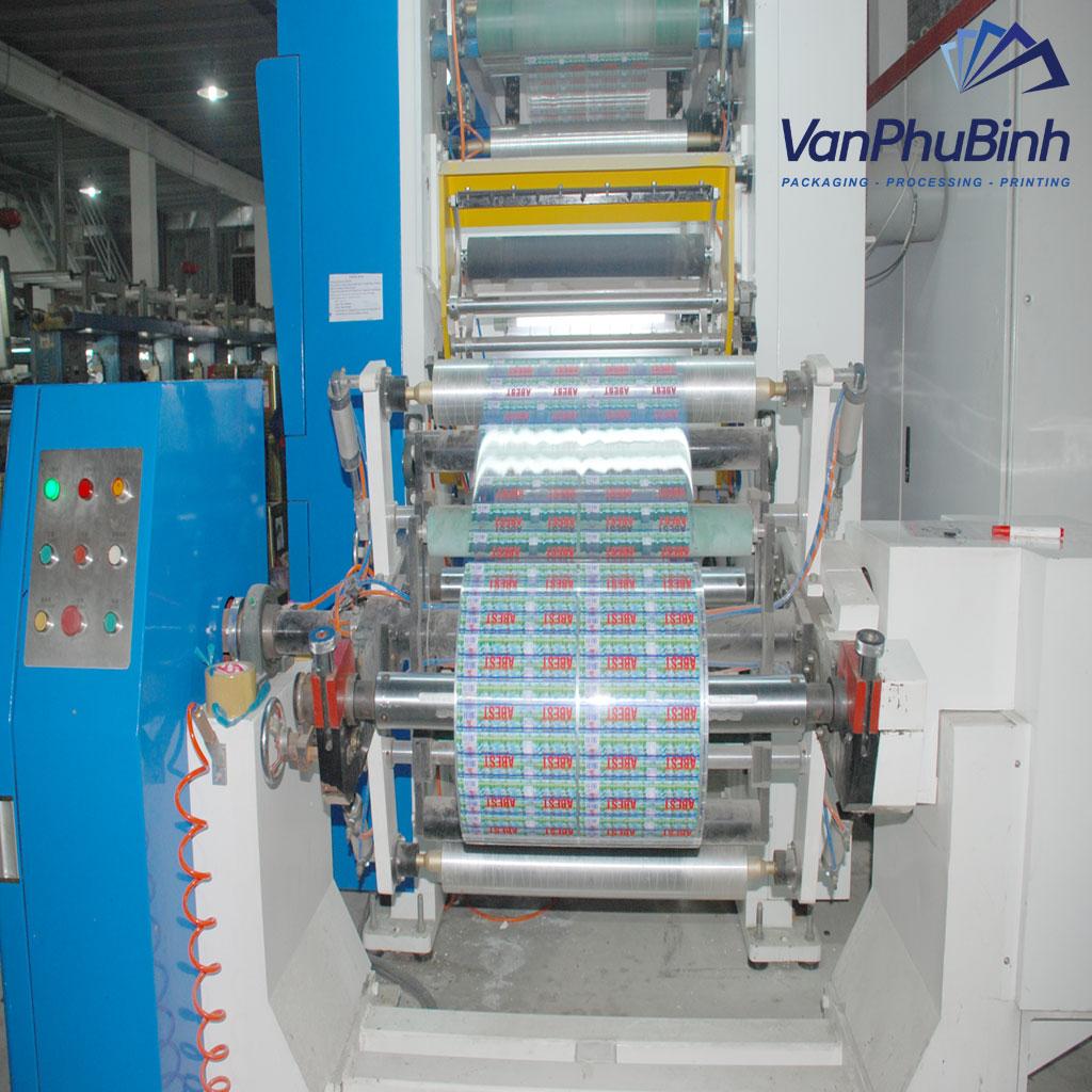 Máy in ống đồng tụ động - Công ty Vạn Phú Bình